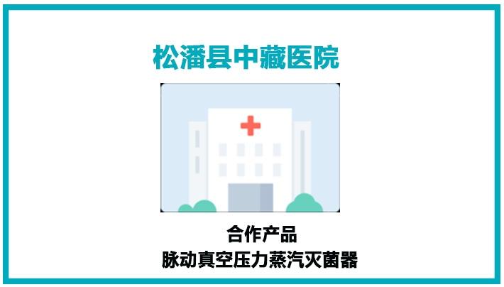 松潘县中藏医院灭菌器安装